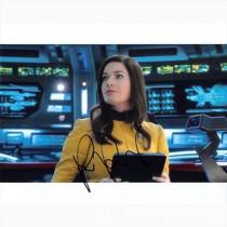 Autografo Rebecca Romijn - Star Trek Strange New Worlds 2 Foto 20x25