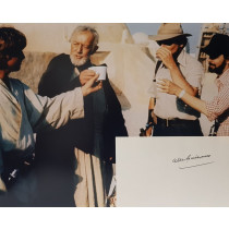 Autografo Alec Guinness Star Wars Foto 20x25