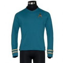 STAR TREK™: THE ORIGINAL SERIES Season 3 Premier Line Sciences Spock Uniform Tunic Small -ultimo pezzo