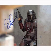 Autografo Pedro Pascal - Il Mandalorian Foto 20x25