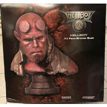 Sideshow  Hellboy 1:1 Faust Bronze Bust  LIMITED EDITION 78#200