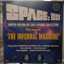 SPACE 1999 EAGLE INFERNAL MACHINE DIECAST SET REPLICA SIXTEEN 12