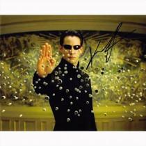 Autografo Keanu Reeves - The Matrix Foto 20x25