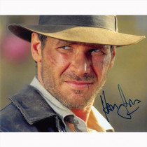 Autografo Harrison Ford - Indiana Jones 5 Foto 20x25: