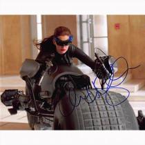 Autografo Anne Hathaway -2- The Dark Knight Rises Batman Foto 20x25