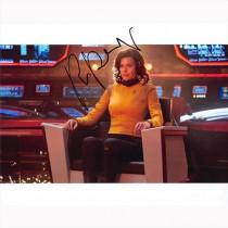 Autografo Rebecca Romijn - Star Trek Strange New Worlds Foto 20x25