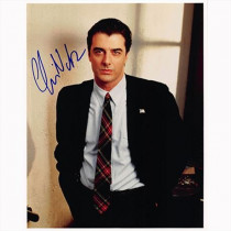 Autografo Chris Noth - Law & Order Foto 20x25