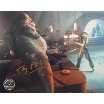 Autografo Toby Philpott Star Wars Jabba 9 Foto 20x25
