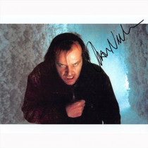 Autografo Jack Nicholson - The Shining Foto 20x25