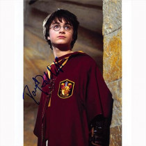Autografo Daniel Radcliffe - Harry Potter Foto 20x25