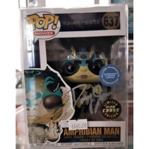 Autografo Doug Jones Funko Pop! Amphibian Man #637 Chase