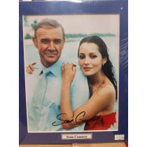 Autografo Sean Connery - James Bond Mai dire Mai  20x25