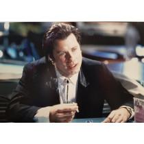 Autografo John Travolta Pulp Fiction Foto 20x30