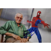Autografo Stan Lee Marvel Foto 20x30