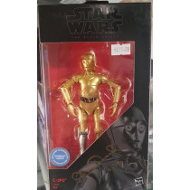 Autografo Anthony Daniels Star Wars C-3PO  Black Series figurine The Mandalorian 15 cm