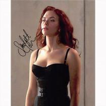 Autografo Scarlett Johansson - Black Widow Foto 20x25