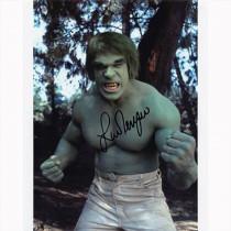 Autografo Lou Ferrigno - The Incredible Hulk 2 Foto 20x25: