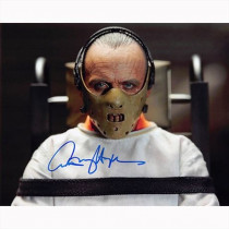 Autografo Anthony Hopkins - Silence of the Lambsr Foto 10x15