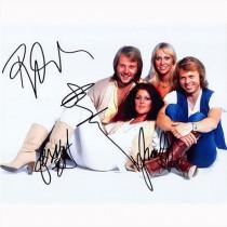 Autografo ABBA Gruppo Foto 20x25
