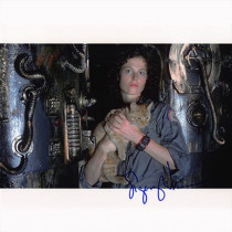 Autografo Sigourney Weaver - Alien Foto 20x25