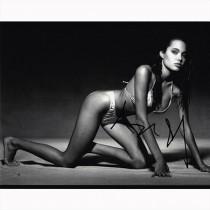 Autografo Angelina Jolie 2 Foto 20x25
