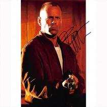 Autografo Bruce Willis - Pulp Fiction Foto 20x25