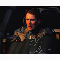 Autografo Chris Evans - Capitan America Foto 20x25