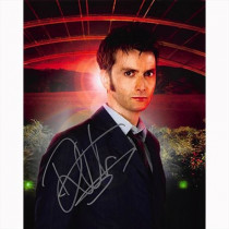 Autografo David Tennant - Doctor Who Foto 20x25