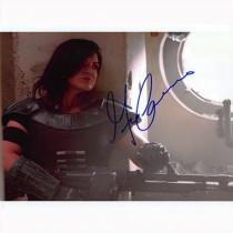 Autografo Gina Carano - The Mandalorian Foto 20X25