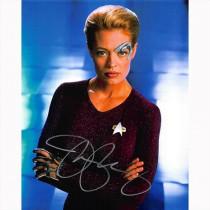 Autografo Jeri Ryan - Star Trek Foto 20x25