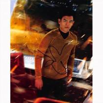 Autografo John Cho - 2- Star Trek foto 20x25