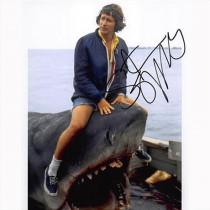 Autografo Steven Spielberg - Jaws Foto 20x25
