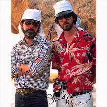 Autografo George Lucas & Steven Spielberg Foto 20x25