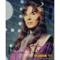 Autografo Mira Furlan Babylon 5 Foto 20x25