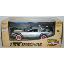 Auto 1:24 DELOREAN TIME MACHINE BACK TO FUTURE RITORNO FUTURO III