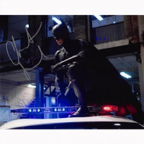 Autografo Christian Bale - 12 - Batman The Dark Knight Foto 20x25