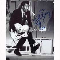 Autografo Chuck Berry -Foto 20x25
