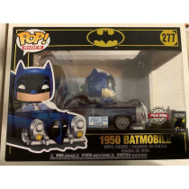 FUNKO POP! BATMAN #277 BATMOBILE 1950 SPECIAL EDITION LUCCA COMICS 2019 80 YEARS