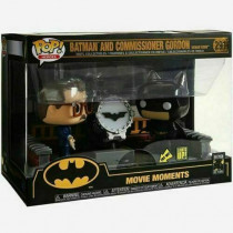 Funko Pop! Batman and commossioner Gordon 80th movie moments #291