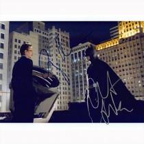 Autografo Christian Bale & Gary Oldman - Batman The Dark Knight Foto 20X25