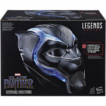 Casco elettronico indossabile 1:1 di Black Panther serie Marvel Legends, Hasbro