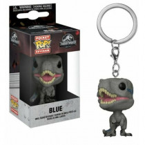 FUNKO POCKET POP! KEYCHAIN PORTACHIAVI JURASSIC WORD Blue