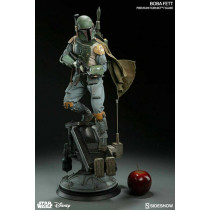 Star Wars Boba Fett Premium Format by Sideshow Collectibles 1/4 Scale Statue New