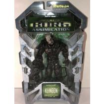 Star Trek - Borg Assimilation - Klingon Borg - 1 of 3 - Action Figure - 2002