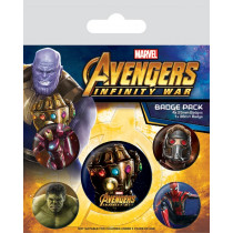 Spille Set Avengers: Infinity War (Infinity Gauntlet)