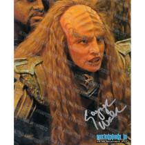 Autografo Gwynyth Walsh Star Trek 2 Foto 20x25