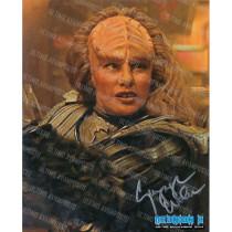 Autografo Gwynyth Walsh Star Trek 3 Foto 20x25