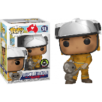 FUNKO Pop! RSPCA NATIONAL BUSHFIRE HEROES FIREFIGHTER WITH KOALA LIMITED Edition