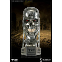 T-800: Combat Veteran Life-Size Bust by Sideshow Collectibles
