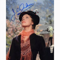 Autografo Julie Andrews - Mary Poppins Foto 20x25